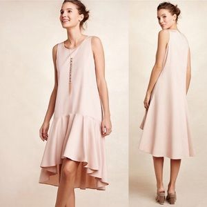 Anthropologie | Maeve Camellia Drop Waist Dress